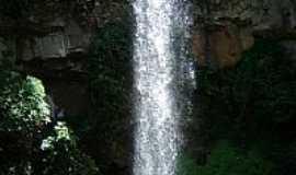 Brotas - Cachoeira das Andorinhas em Brotas-SP-Foto:Daniel Souza Lima