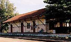 Bueno de Andrada - Cartório de Registro Civil na antiga Estação Ferroviária-Foto:Zekinha