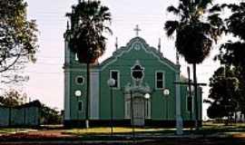 Bueno de Andrada - Igreja do Sagrado Coração de Jesus em Bueno de Andrada-SP-Foto:Zekinha