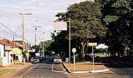 Bueno de Andrada - Praça em Bueno de Andrada-SP-Foto:Zekinha