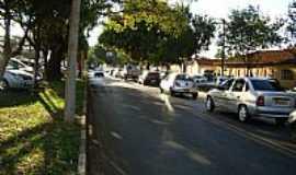 Bueno de Andrada - Rua central em Bueno de Andrada-SP-Foto:Umberto Moreno