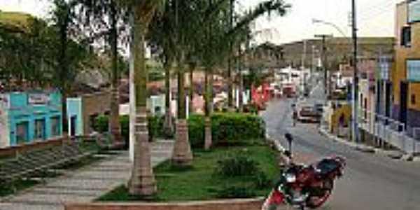 Avenida Central em Jacuípe-Foto:ednaldorocha