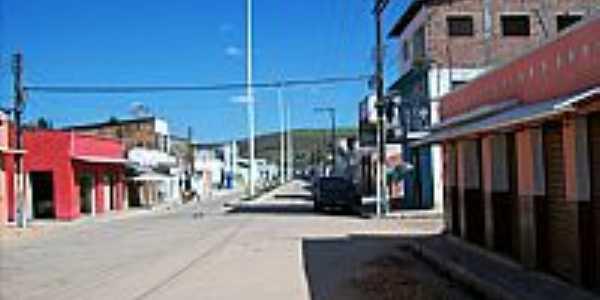 Jacuípe-AL-Avenida central-Foto:jose ednaldo lins da rocha