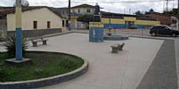 Praça Padre Cícero em Jacuípe-Foto:Sergio Falcetti
