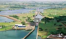 Buritama - Buritama-SP-Eclusa da Hidrelétrica Nova Avanhandava-Foto:Cezar Alberto Mendes