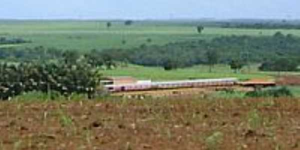 Vista de Buritizal-Foto:Rubens Almeida