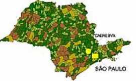 Cabreúva - Mapa