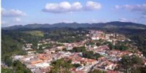 Foto aérea da Cidade de CAbreúva (centro), Por Câmara de Dirigentes Lojistas de CAbreúva