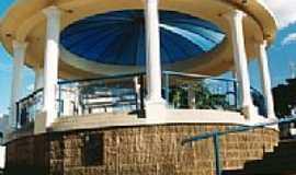 Caconde - Coreto na Praça da Matriz