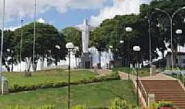 Caconde - Pra�a do Ros�rio