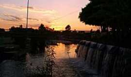 Paramirim - P�r do Sol na Represa Paramirim-BA-Foto:Osm�rio Junior