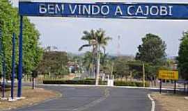 Cajobi - Entrada da cidade-Foto:José Bento Chimello