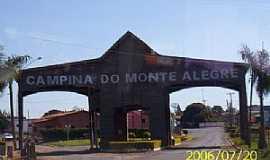 Campina do Monte Alegre - Portal de entrada- Campina do Monte Alegre-SP - Foto LuziACruzFrata