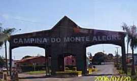 Campina do Monte Alegre - Portal de entrada-Foto:LuziACruzFrata