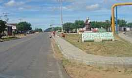 Paratinga - Entrada da cidade de Paratinga-BA-Foto:kavalodaselakebr