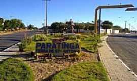 Paratinga - Entrada da cidade de Paratinga-BA-Foto:PauloCôba