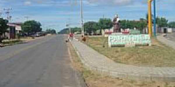 Entrada da cidade de Paratinga-BA-Foto:kavalodaselakebr