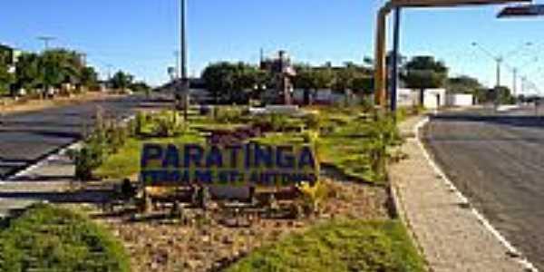 Entrada da cidade de Paratinga-BA-Foto:PauloC�ba