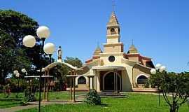 C�ndido Mota - Igreja de Santa Terezinha do Menino Jesus - C�ndido Mota/SP -  por Fabio Vasconcelos