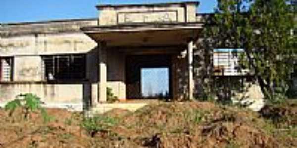 Antiga Estação Ferroviária-Foto:darleiteixeira