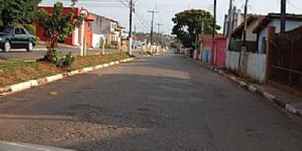Capão Bonito-SP-Rua da cidade-Foto:LuziACruzFrata