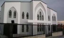 Capela do Alto - Frente da Igreja CCB Central de Capela do Alto, Por Andr�ia C. R. Bueno