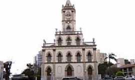 Capivari - Matriz de São João Batista em Capivari-Foto:Vicente A. Queiroz