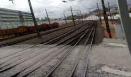Carapicuíba - linha férrea, Por Antonio Cícero da Silva - Águia