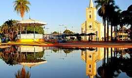 Castilho - Praça Lizette Bispo dos Santos ou Praça da Matriz de Castilho