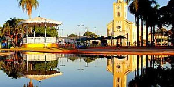 Praça Lizette Bispo dos Santos ou Praça da Matriz de Castilho
