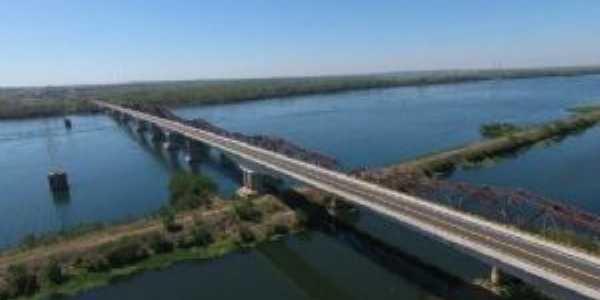 Pontes  Rodoviaria e Ferroviaria entre Castilho - SP e Tres Lagoas - MS, Por Henrique