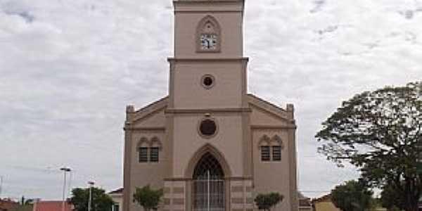 Igreja de Sta. Isabel -Matriz de Catigu�-SP - Por Amauri Jos� Granzotto