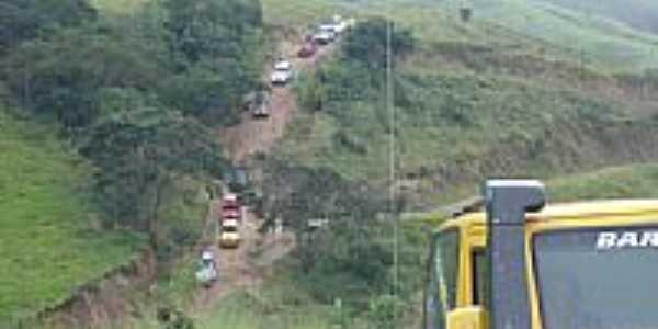 Rota entre Catucaba e Cunha-Foto:FERNANDO NEUMANN