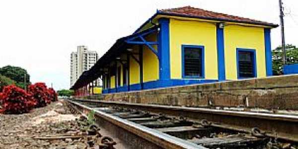 Cerquilho-SP-Estação ferroviária-Foto:Adriano Martins