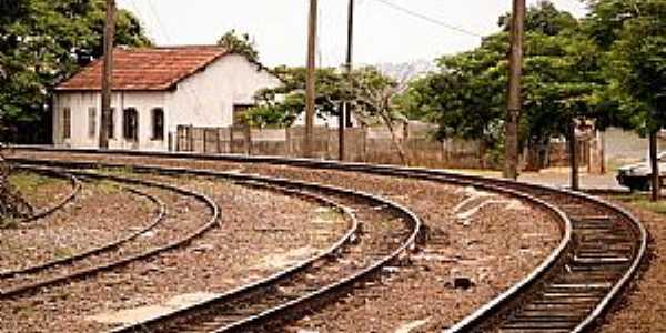 Cerquilho-SP-Trilhos ferroviários-Foto:Adriano Martins