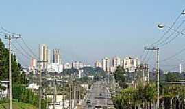 Cezar de Souza - Avenida João XXIII em Cezar de Souza-Foto:John Lima