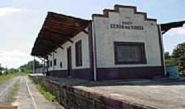 Cezar de Souza - Estação Ferroviária de Cezar de Souza-Foto:Jose Carlos Quiletti