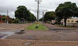 Chavantes - Chavantes-SP-Avenida Toninho Fontes-Foto:Carlos César Antunes