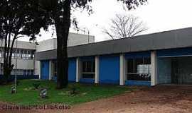 Chavantes - Chavantes-SP-Biblioteca e Sala de Convenção-Foto:Carlos César Antunes