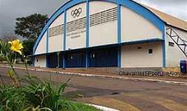 Chavantes - Chavantes-SP-Ginásio de Esportes-Foto:Carlos César Antunes