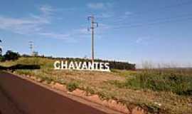 Chavantes - Entrada da cidade de Chavantes-SP-Foto:Fabio Vasconcelos