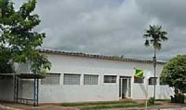 Clementina - C�mara dos Vereadores e Biblioteca Municipal.
