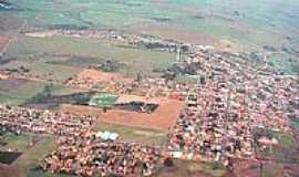 Clementina - Vista A�rea da Cidade.