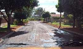 Conceição de Monte Alegre - Conceição do Monte Alegre-SP-Asfaltamento em Rua do Distrito-Foto:www.paraguacity.com