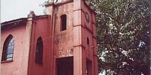 Conceição do Monte Alegre-SP-Igreja do Distrito-Foto:femanet.com.br