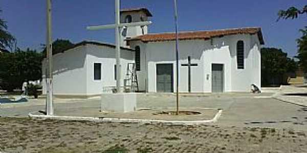 Pau à Pique-BA-Igreja de São Sebastião-Foto:Adalberto Eletricista
