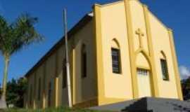 Coronel Goulart - Igreja Santa Luzia de Coronel Goulart, depois de reformada, Por Francislaine Rodrigues de Oliveira
