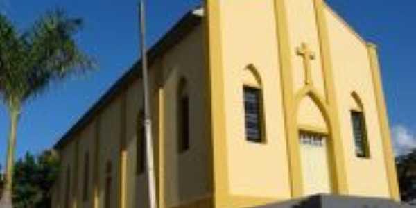 Igreja Santa Luzia de Coronel Goulart, depois de reformada, Por Francislaine Rodrigues de Oliveira