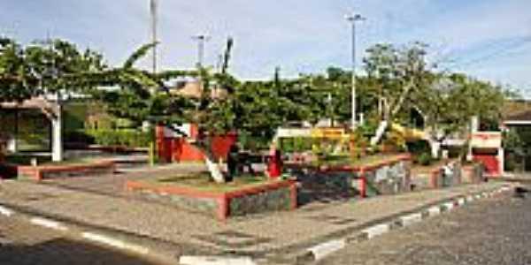 Pau Brasil-BA-Praça central-Foto:www.nossacara.com