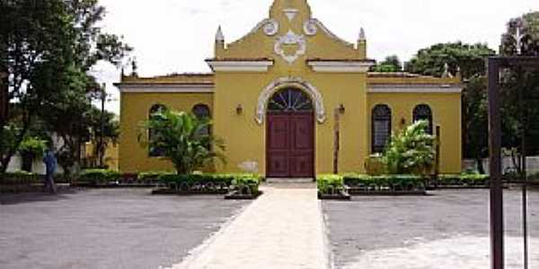 Cotia-SP-Igreja de N.Sra.do Brasil na Rodovia-Foto:Roberto Quirino Simões